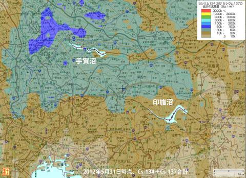 Teganuma_map